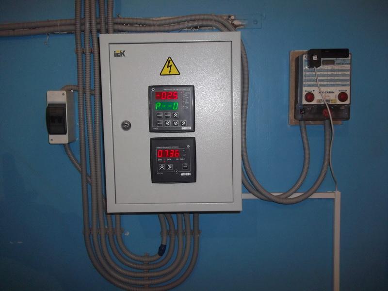 Контроллер и таймер электронного элеватора отопления