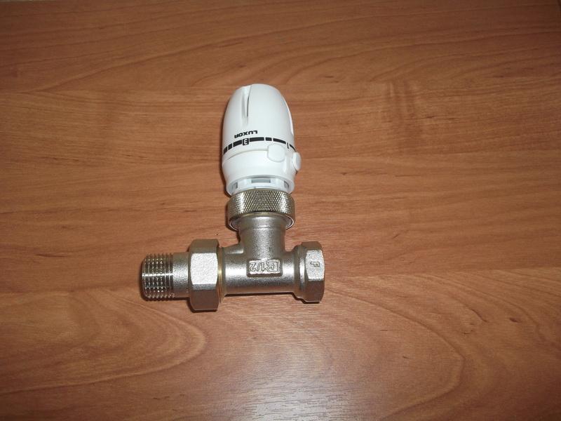 Термоголовка и клапан готовый к  работе