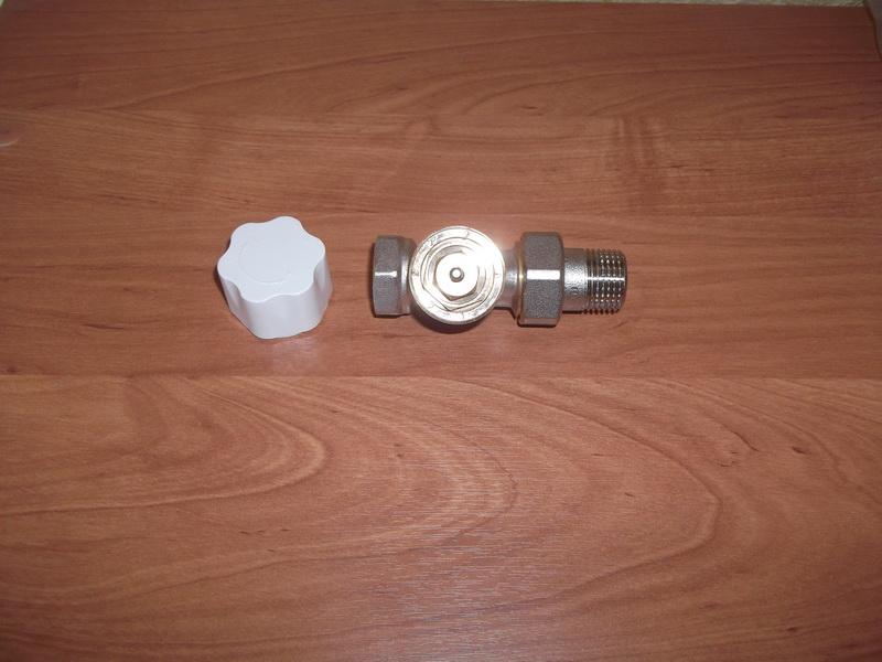 Вентиль термостатический и колпачок