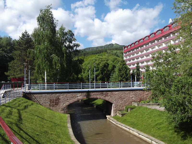 Мост, Курорт Белокуриха