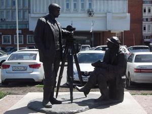 Памятник строителям