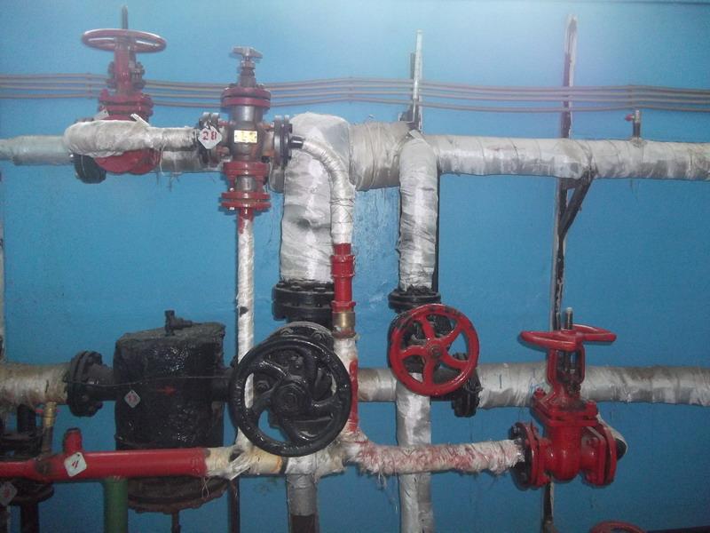 Открытая схема горячего водоснабжения