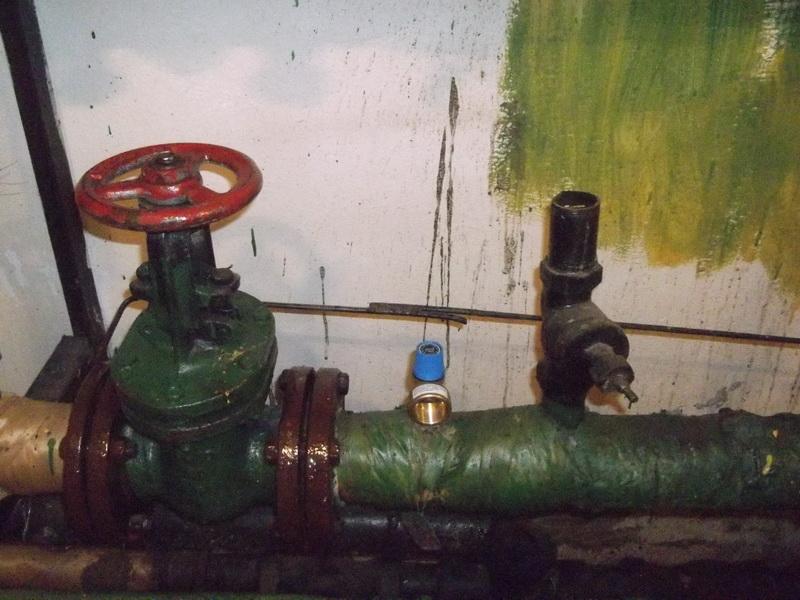Предохранительный клапан на обратке отопления