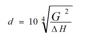 Формула расчета шайбы