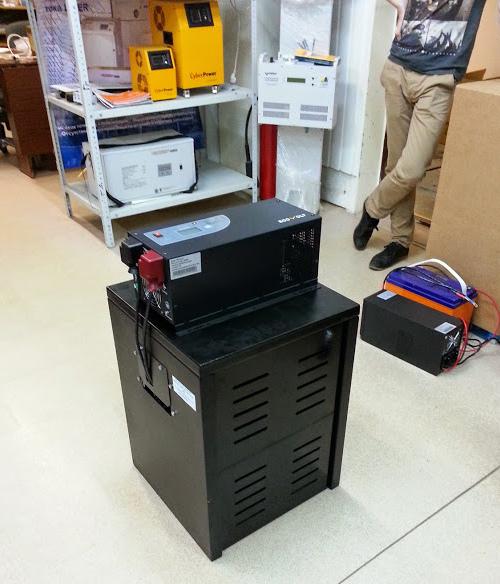 ИБП Ecovolt с комплектом АКБ (в ящике)