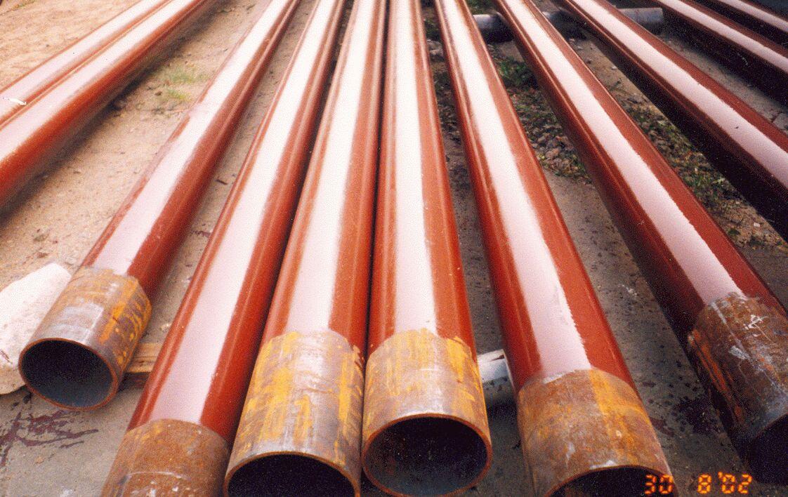 Стальные трубы с антикоррозийным покрытием