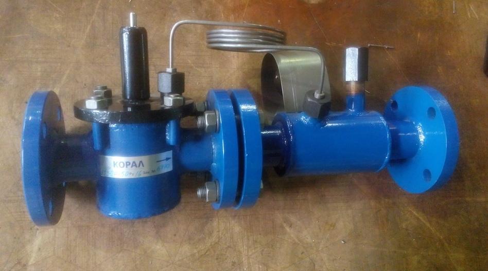 Регулятор температуры воды жидкостные РТВ-2Р