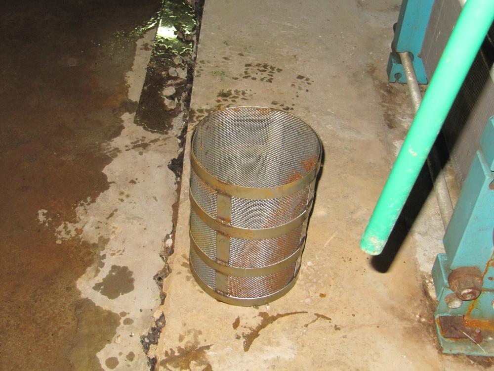 Система Лед - вода, фильтр после применения метода