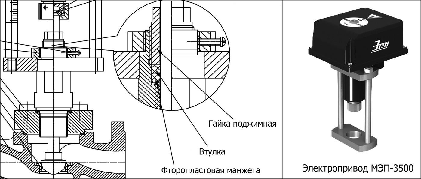 Сальник КЗСР Этон 2