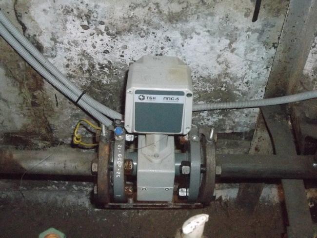 Расходомер узла учета тепловой энергии