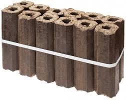 Шестигранные топливные брикеты
